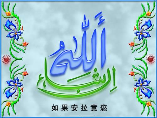 伊斯兰教的真主有多少个尊名图片